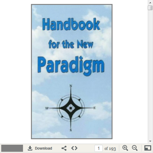 Read it online at: http://www.nohoax.com/media/Handbook_for_the_New_Paradigm.pdf